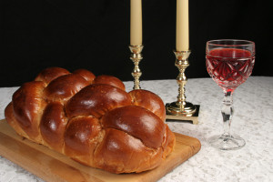 Simple Settings for Shabbat as seen on The Jewish Kitchen website