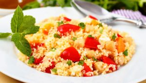 Shabbat Menu (Vegetarian) as seen on The Jewish Kitchen website