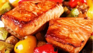 Summer Party Menu as seen on The Jewish Kitchen website