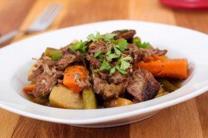 Shabbat Menu (Beef) as seen on The Jewish Kitchen website