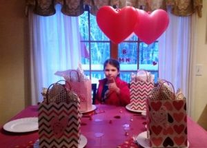 Family Valentine's Party as seen on The Jewish Kitchen website