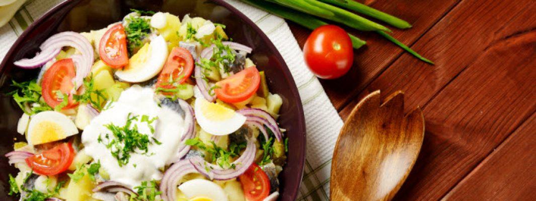 tomato herring salad from The Jewish Kitchen