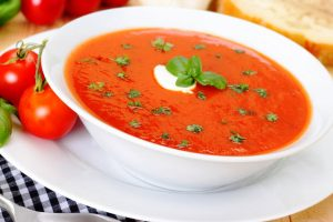 quick tomato soup from The Jewish Kitchen