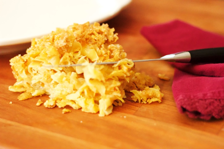 mom's perfect kugel from The Jewish Kitchen