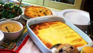 Yom Kippur Break Fast Menu as seen on The Jewish Kitchen website