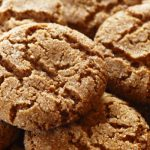 gingersnap cookies from The Jewish Kitchen