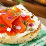 bagel & schmear from The Jewish Kitchen