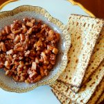 sweet and nutty charoset from The Jewish Kitchen