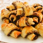 chocolate chip and cherry rugelach from The jewish Kitchen