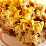 dairy noodle pudding from The Jewish Kitchen