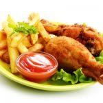 fried chicken from The Jewish Kitchen