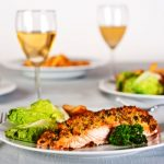 oven baked salmon from the Jewish Kitchen