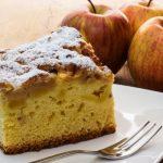 glorias apple cake from The Jewish Kitchen