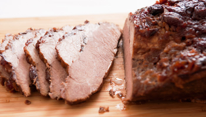 Ricky's Sweet and Tangy Beef Brisket