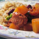 traditional cholent from The Jewish Kitchen