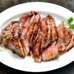 marinated skirt steak from The Jewish Kitchen