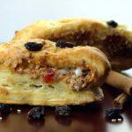 almond strudel with raisin from The Jewish Kitchen