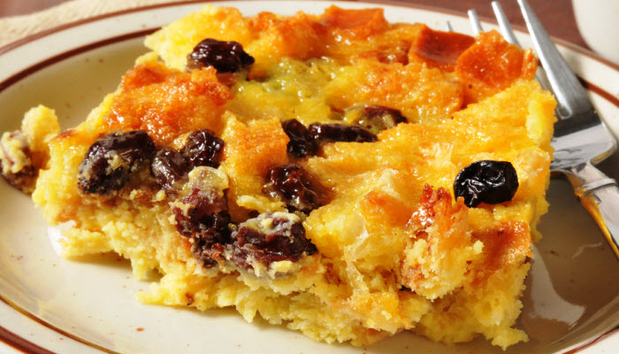 Shirlee's French Bread Pudding