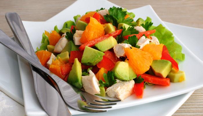 Chicken Salad with Avocado