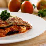 Kosher eggplant parmesan from the Jewish Kitchen