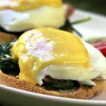 eggs florentine from The Jewish Kitchen