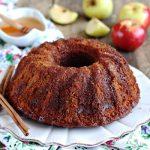Rosh Hashanah honey cake from The Jewish Kitchen