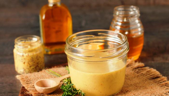 honey mustard sauce from The Jewish Kitchen