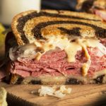 classic reuben sandwich from The Jewish Kitchen