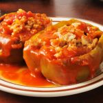 stuffed peppers from The Jewish Kitchen