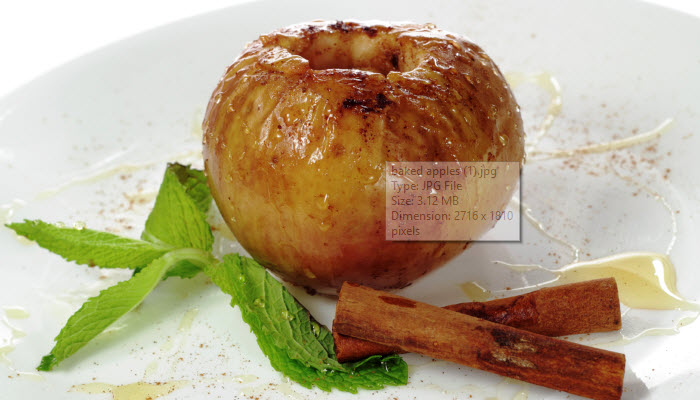 Classic Baked Apples – Healthy Option
