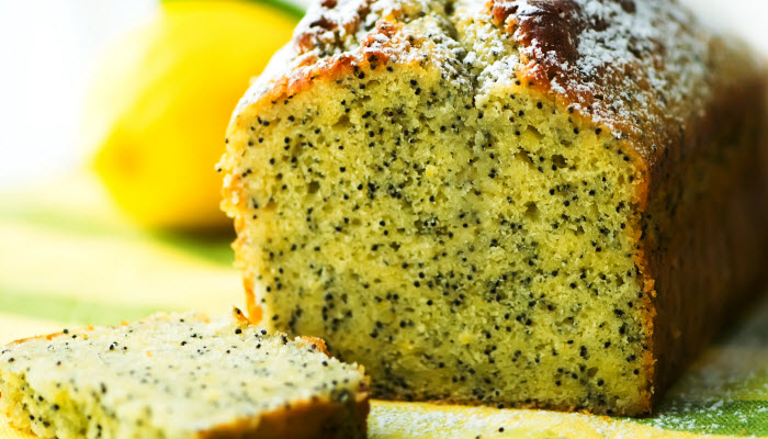 Lemon Poppy Seed Cake – Healthy Option