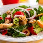 mediterranean salad from The Jewish Kitchen