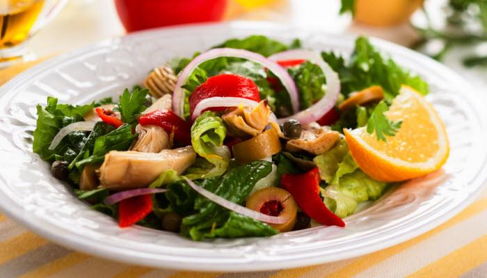 Mediterranean Salad – Healthy Option