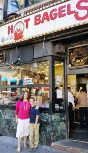 Mo and Jo outside Bakery2