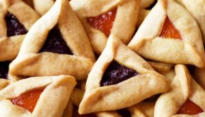 apricot and raspberry hamantaschen