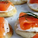blini with smoked salmon from The Jewish Kitchen