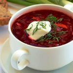 borscht from The Jewish Kitchen