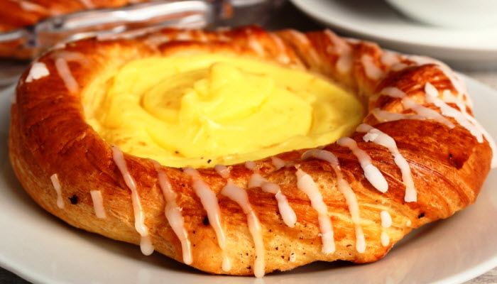 decadent cheese danish from The Jewish Kitchen