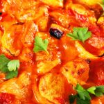 chicken with tomatoes from The Jewish Kitchen