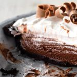 chocolate cream pie from The Jewish Kitchen