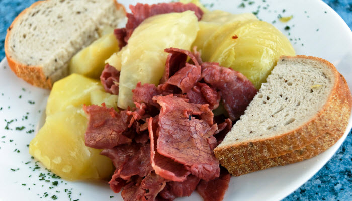 corned beef from The Jewish Kitchen