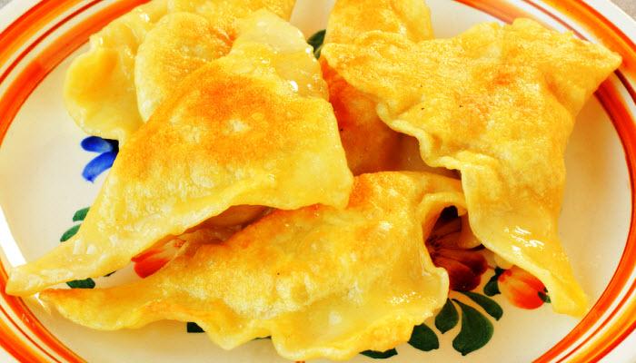Fried Kreplach