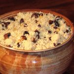 moroccan fig, pine nut, and black bean couscous from The Jewish Kitchen