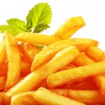 easy baked fries from The Jewish Kitchen