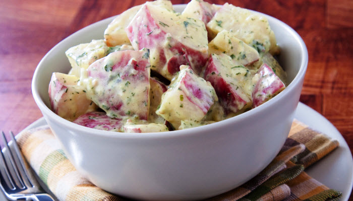 Hearty Potato Salad – Healthy Option