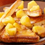apple maple french toast from The Jewish Kitchen