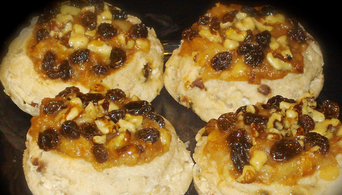 Apple Raisin and Walnut Danish – Healthy Option