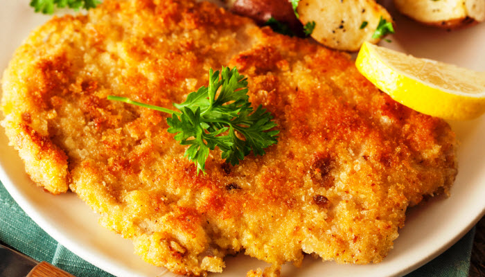 Breaded Veal Chops