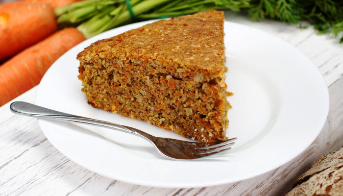 Fresh Carrot Cake – Healthy Option