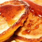 cinnamon whole grain pancakes from The Jewish Kitchen